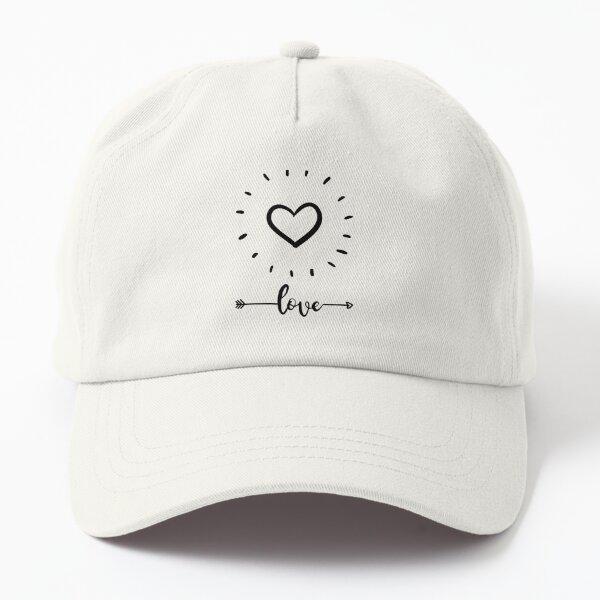 Beautiful love hearts Dad Hat