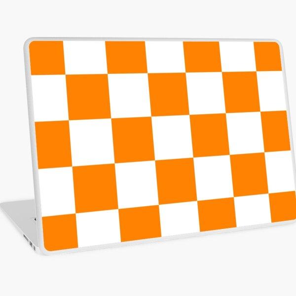 Tennessee Vols Checkerboard Pattern Laptop Skin