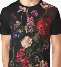 Rikard Osterlund's Flowers (Atrophy of Logic) Graphic T-Shirt
