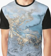 Marble Swirl  Graphic T-Shirt