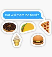 Pegatina habrá texto de alimentos iPhone