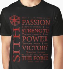 Sith Code Graphic T-Shirt
