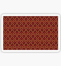 The Shining - Carpet pattern  Sticker