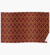 The Shining - Carpet pattern  Poster
