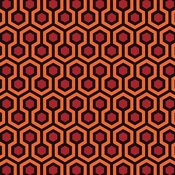 Das Glänzende - Teppichmuster von sirllamalot