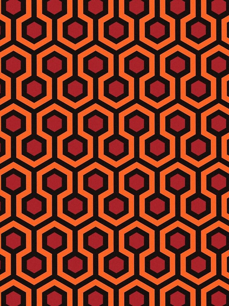 The Shining - Carpet pattern  by sirllamalot