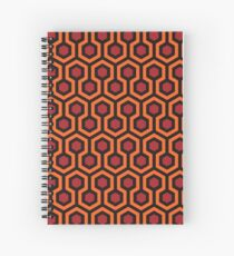 The Shining - Carpet pattern  Spiral Notebook