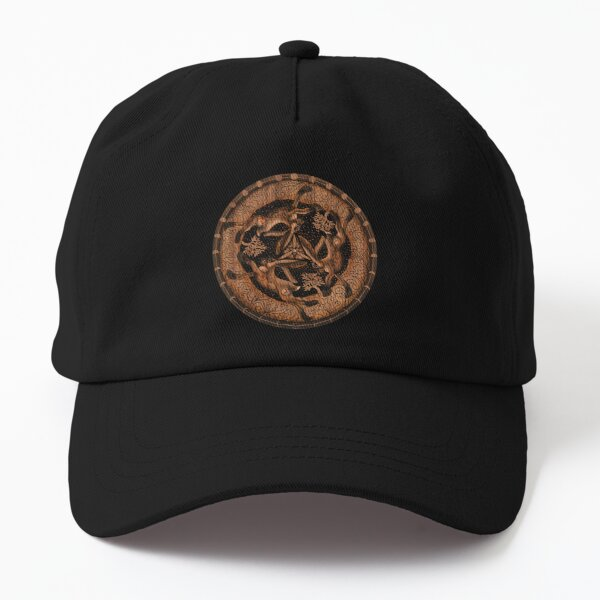 Hare Trinity Moon Phases Celtic Tree of Life Dad Hat