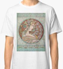 Alphonse Mucha - Ivy, 1901  Classic T-Shirt