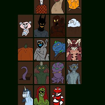 The Costume Shop Monster Cards by TylerMannArt