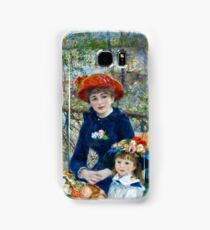 Renoir Auguste - Two Sisters (On the Terrace) (1881)  Samsung Galaxy Case/Skin