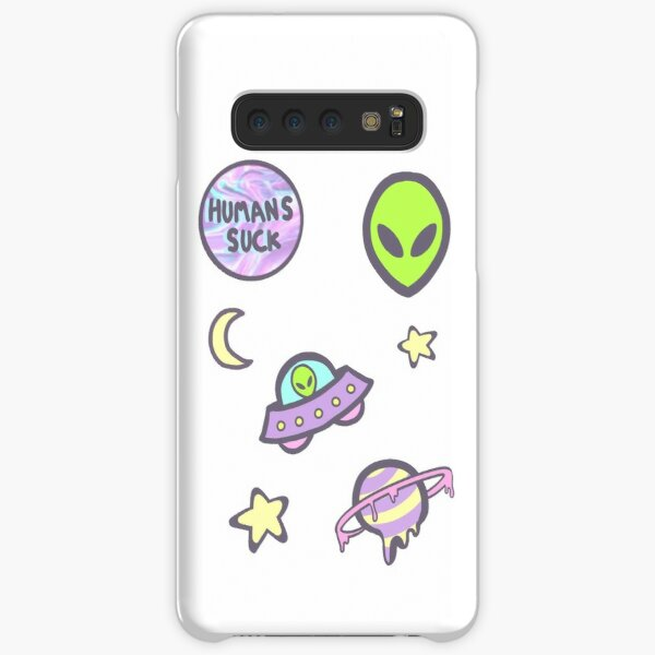 out of this world sticker set Samsung Galaxy Snap Case