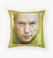 Udo Kier Throw Pillow