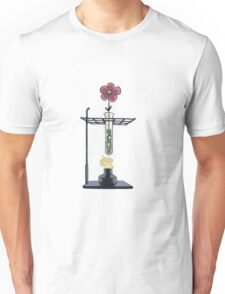 Bunsen Burner Flower Pot Unisex T-Shirt