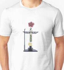 Bunsen Burner Flower Pot T-Shirt