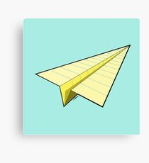 Paper Airplane 10 Canvas Print