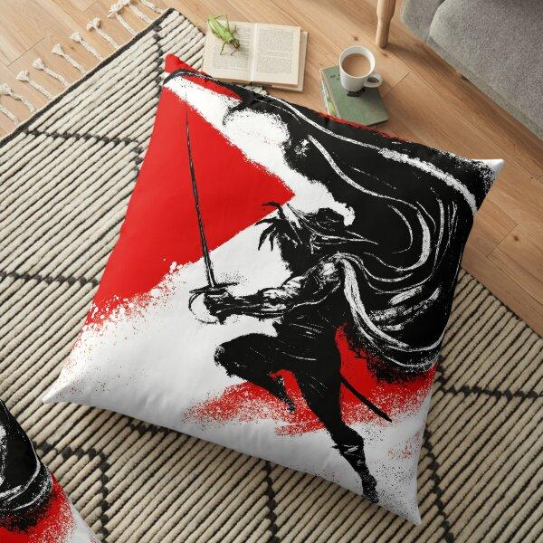 Zorro Adelante Floor Pillow