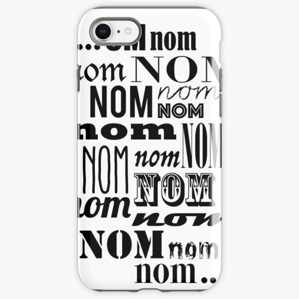 Om Nom Nom iPhone Tough Case