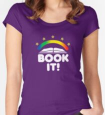 BOOK IT BADGE Women's Fitted Scoop T-Shirt
