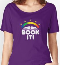 BOOK IT BADGE Women's Relaxed Fit T-Shirt