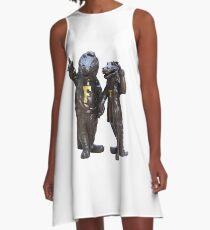 The Gators Transparent For T Shirts A-Line Dress