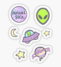 out of this world sticker set Sticker