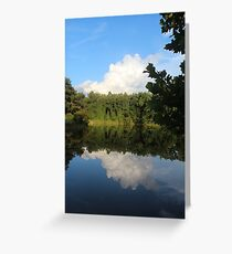 On The Surface Greeting Card