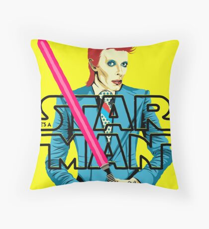 Waiting in the Sky Throw Pillow