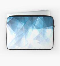 Ice Blue Fractals Laptop Sleeve