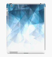 Ice Blue Fractals iPad Case/Skin