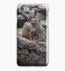 Marine Iguana - San Cristobal Island - Galapagos iPhone Case/Skin