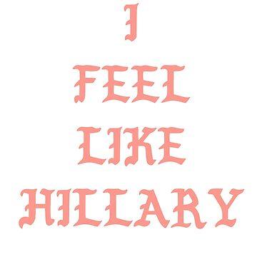 I feel Like Hillary. Really? That mustn't be good.  by crashin