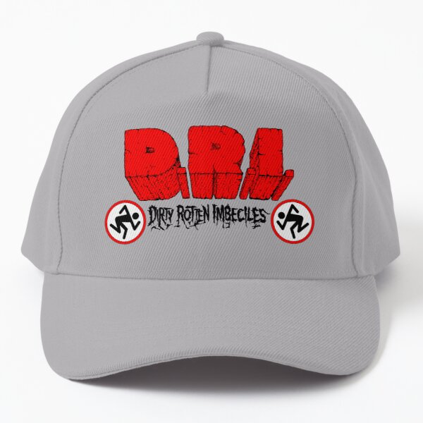 Dirty Rotten Imbeciles - 4 of a Kind Classic Old School US Thrash Crossover Metal Baseball Cap