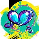 Blue-ish Heart [3] by Em B-)