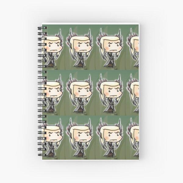 Elf King Plaid Spiral Notebook