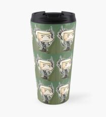 Elf King Plaid Travel Mug