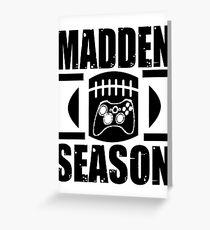 Madden Season Greeting Card