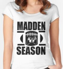Madden Season Women's Fitted Scoop T-Shirt
