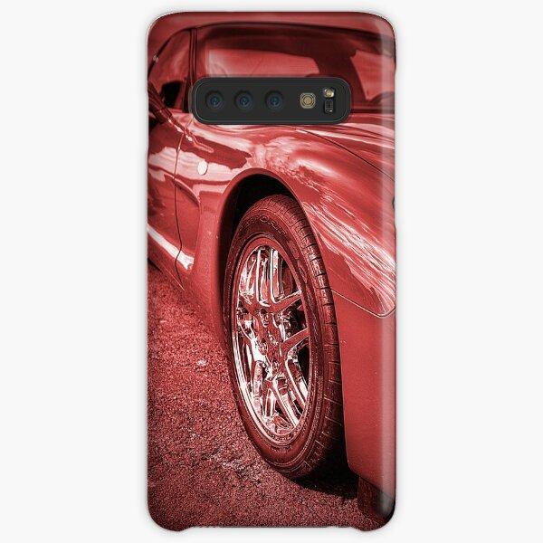 Red Corvette Samsung Galaxy Snap Case