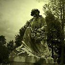 Fair Maiden In Stone by Ann Allerup