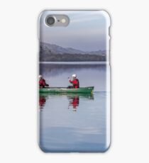 Green Canoe iPhone Case/Skin