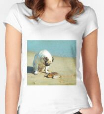 Waiting Women's Fitted Scoop T-Shirt