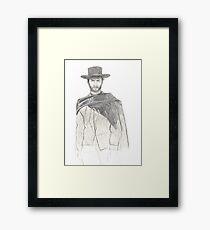 Il Clint Framed Print