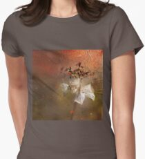 The Abstract World of Flowers Womens Fitted T-Shirt