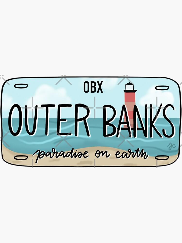 DAS ORIGINAL OBX Kennzeichen hell von Jeandabean