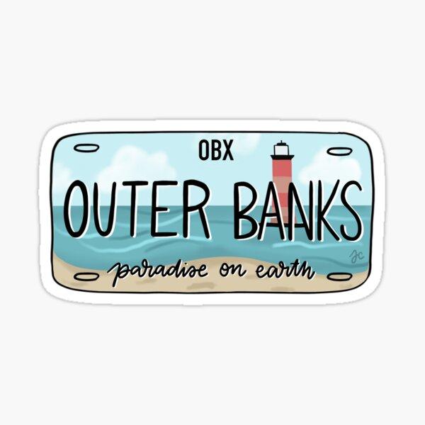 LA plaque d'immatriculation ORIGINAL OBX lumineuse Sticker