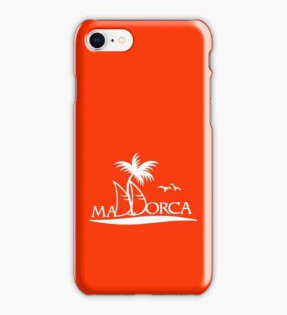 Sailing in Mallorca VRS2 iPhone Case/Skin