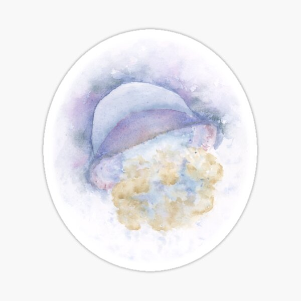 Watercolor Jellyfish at the Chicago Aquarium Sticker