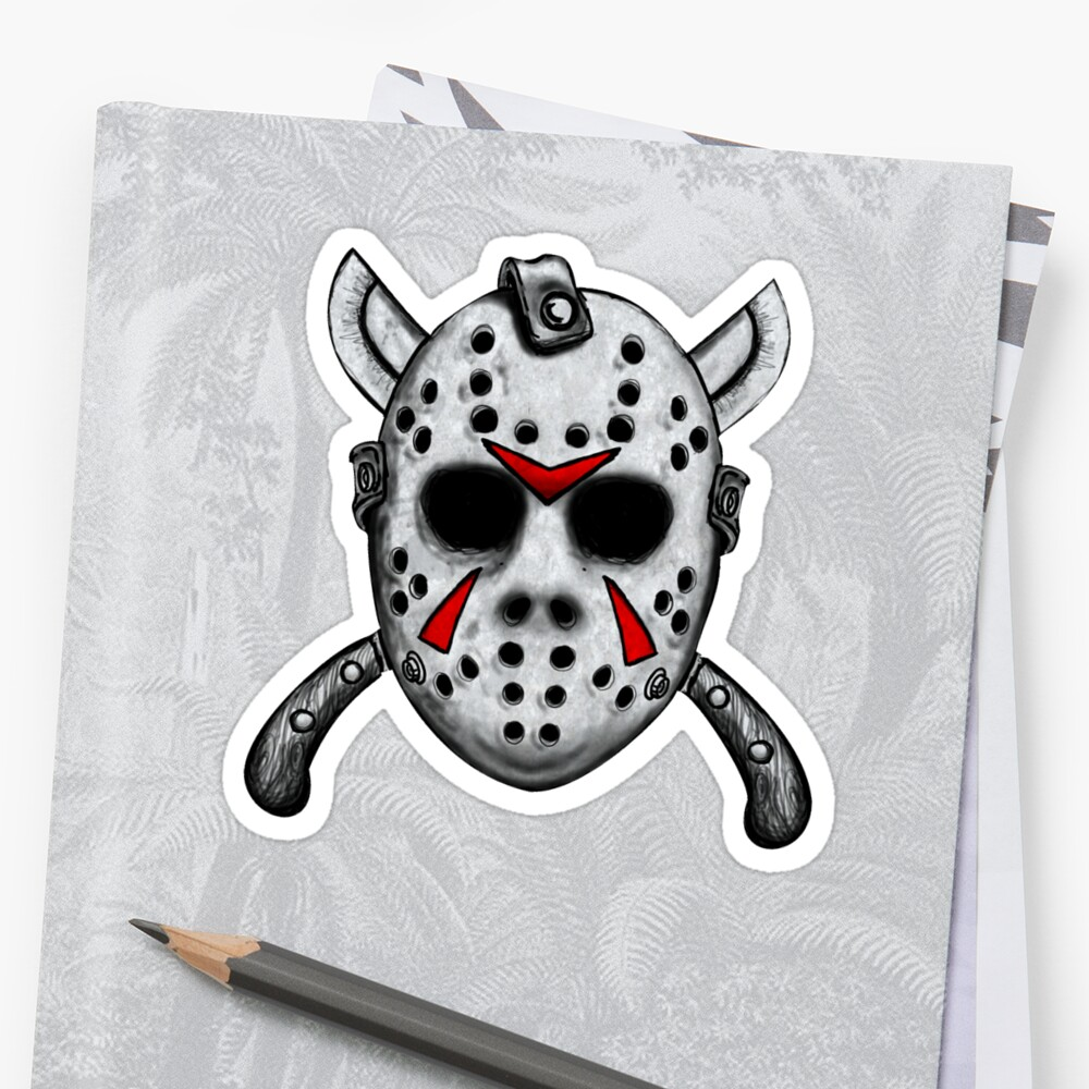 Friday the 13th Jason Mask by ShayneoftheDead