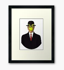 The Son of Man Framed Print